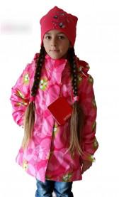 Пальто  для девочки демисезонное, отличного качества!
