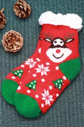 87970 Детские носки (NIKA)Красный