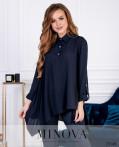 Рубашка №6169-Синий