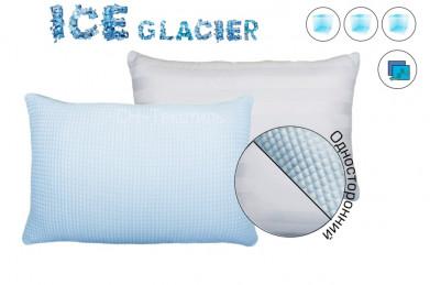 Наволочка Айс Глатчер с охлажд.эффектом,50*70,синий,1 сторон