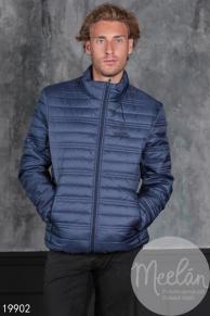 Мужская куртка 19902 темный синий