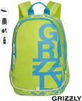 Школьный рюкзак Grizzly RU-724-1(салатовый)