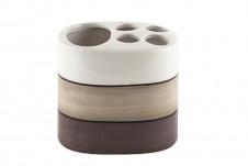 GINZA Стакан для зубной пасты и щётки, керамика