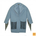 Пальто Gven с рюшей Р026718