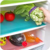Антибактериальный коврик в холодильник, набор 4 шт.