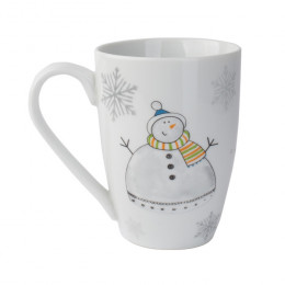 """Кружка """"Счастливый Праздник: Снеговик"""", объем 0,2 л"""