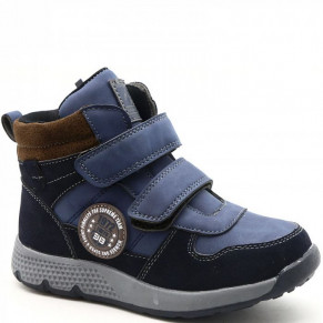 9411-15 син Ботинки деми для мальчиков размер 34