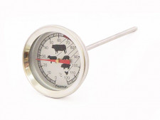 Термометр для мяса, диапазон измерений 0-120°C, длина щупа 1