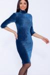50410 Платье Морская волна