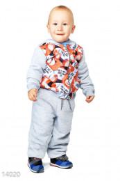 Теплый детский костюм Gepur