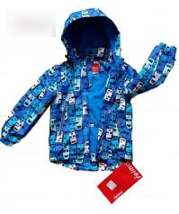 Куртка-ветровка на флисе для мальчика.