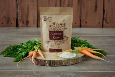 Льняная каша с морковью и кунжутом 100 гр.
