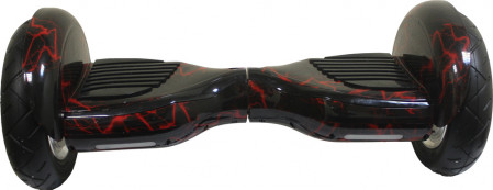 Гироскутер 10 дюймов Smart Balance Premium Молния Красная+AP