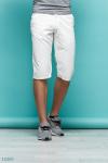 Мужские шорты Виджей белый принт мелкий