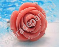 Кольцо, коралл, ФСК62 Артикул: 106072
