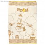 Полотенце махровое Disney Free Day Winnie the Pooh 100х150