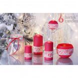 свеча Лампион  Рождественская мода 265х95