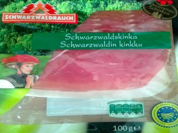 Сыровяленная ветчина, Schwarzwaldrauch, 100г.