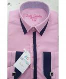 Рубашка для мальчика, Dast Cardin, арт.1102, розовый