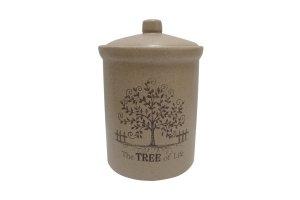 Банка для сыпучих продуктов средняя Дерево жизни Terracotta,