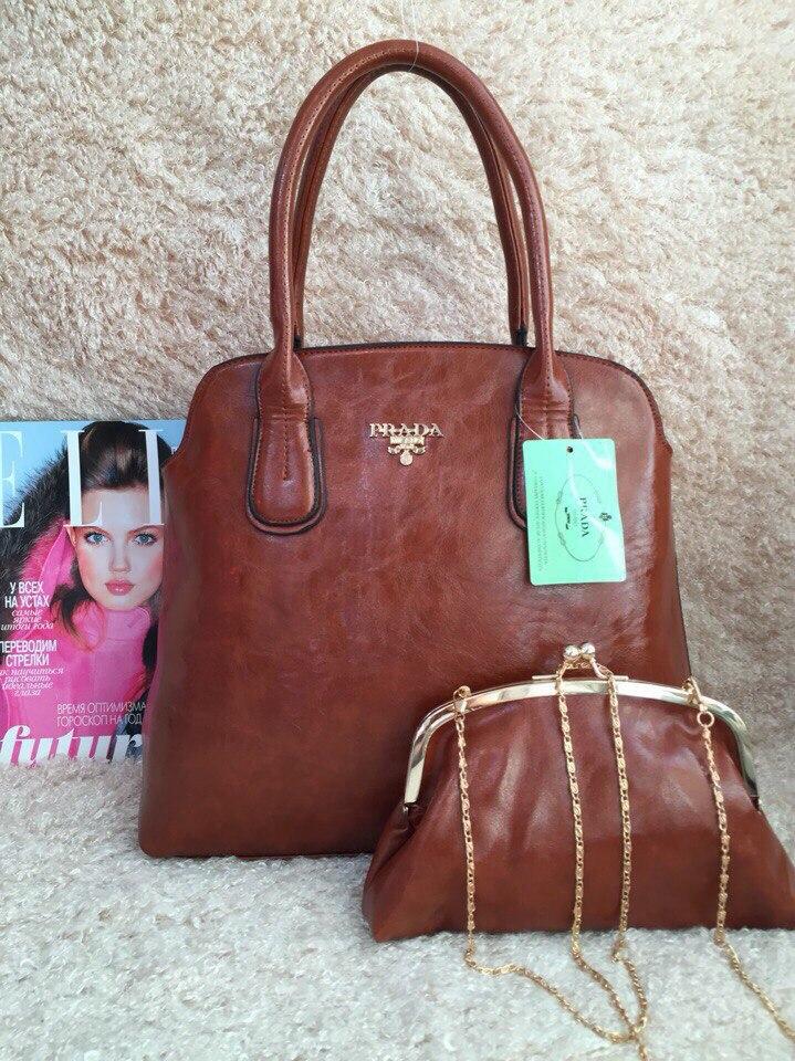 Женские сумки фирмы Прада и фото ультрамодных