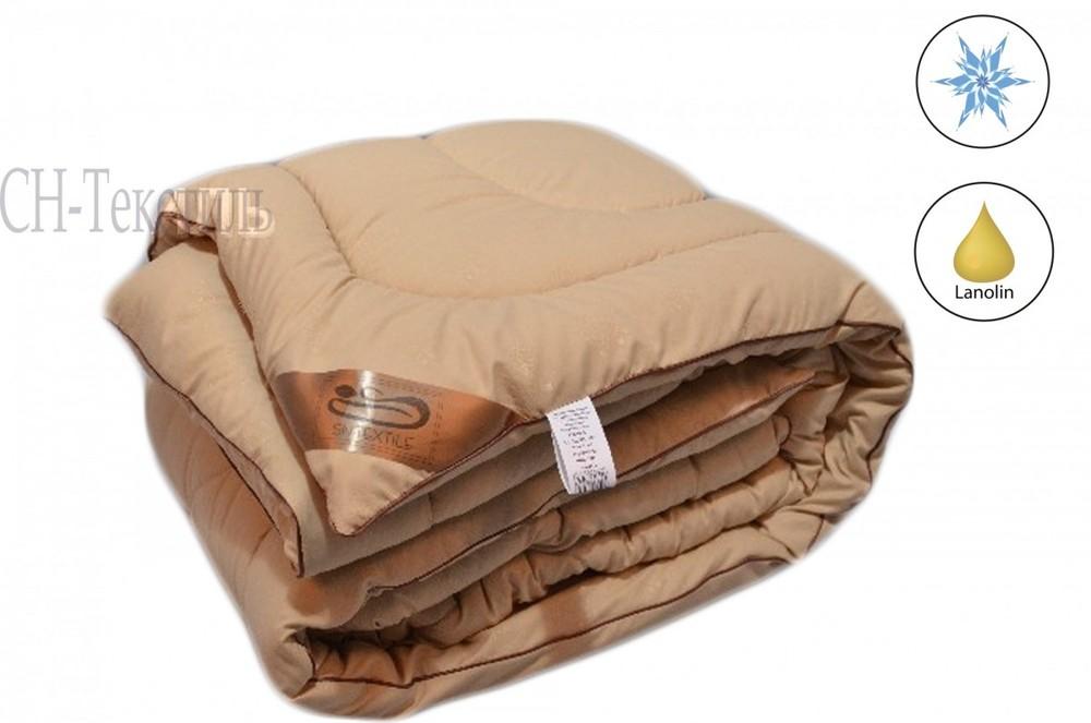 Овечья шерсть микрофибра одеяло зимнее 200х220