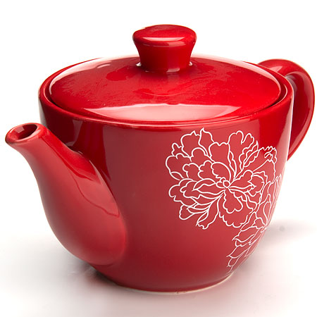 Завар/чайник с/кр 900мл Красный Узор