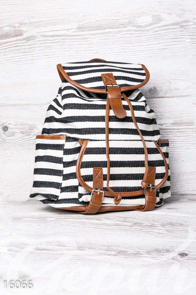 Полосатый рюкзак Gepur