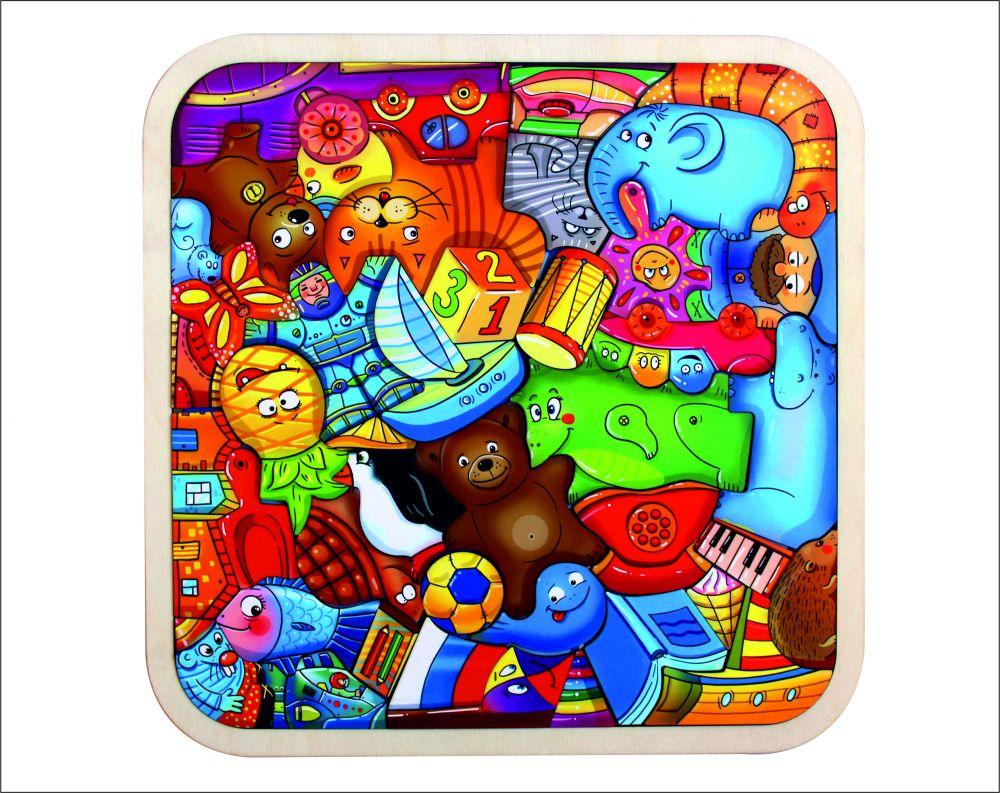 Пазл-головоломка Игрушки