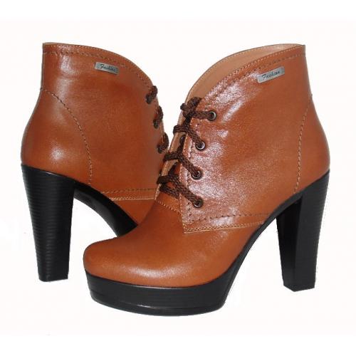 Ботинки женские натуральная кожа/замша