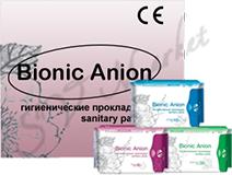 Прокладки Bionic Anion Ежедневные
