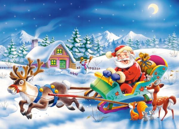Рождество Пазлы 260 элементов