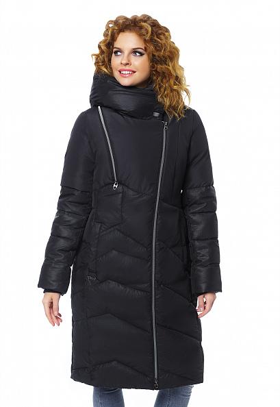 """Пальто """"Миана"""" черное"""