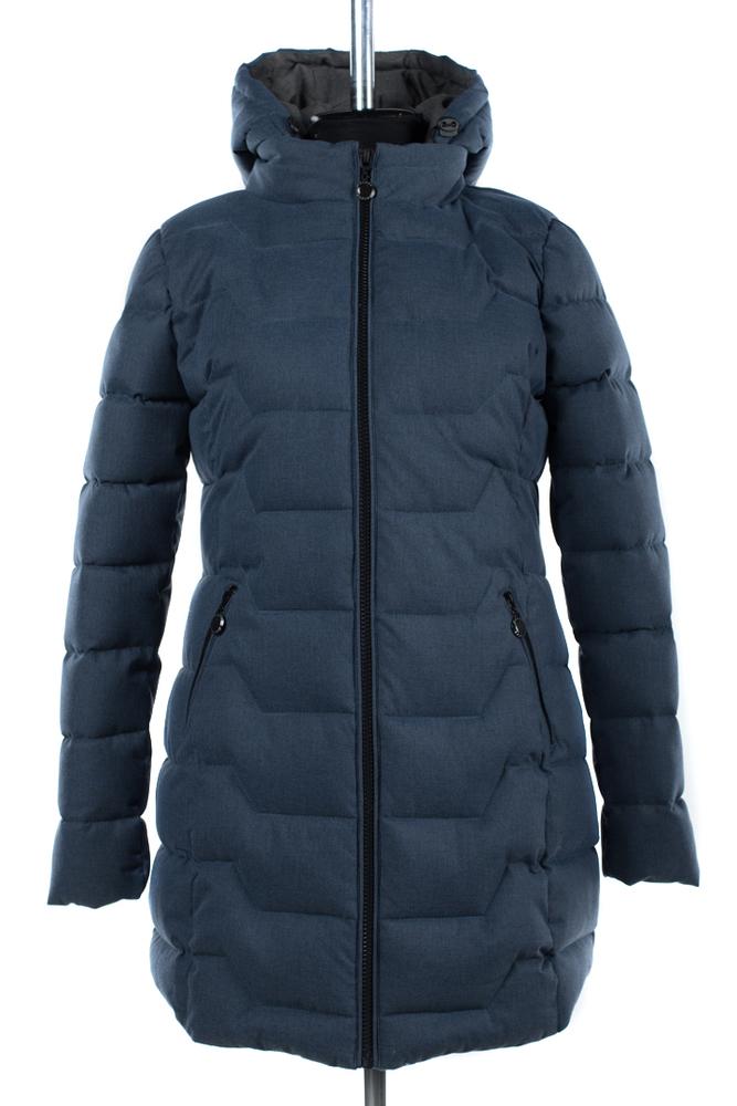 05-1404 Куртка зимняя (Синтепух 300) Мембранная плащевка Сер
