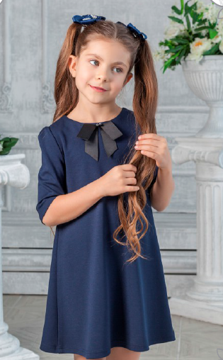 Школьное платье А*вгустина младшая школа