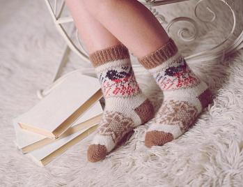 Детские носки (шерстяные)