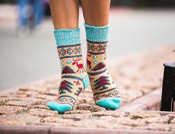 Женские носки (шерстяные)