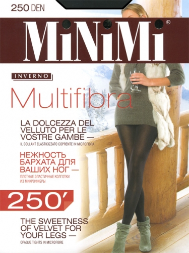 MINIMI колготки женские MULTIFIBRA 250
