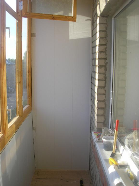 Утепление легкого балкона, эконом вариант - запись пользоват.