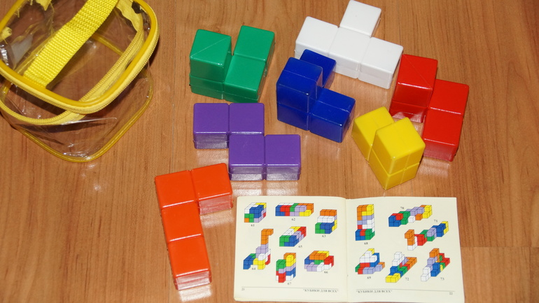 Кубики никитина инструкция