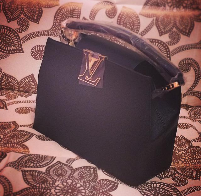 Женская сумка louis vouton whisper black