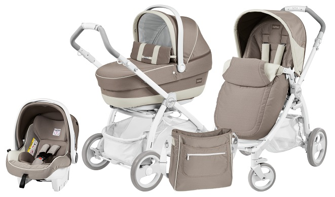 Коляска Peg-Perego Book Plus Pure Set Modular