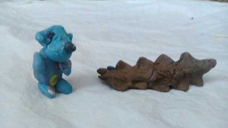 голубой щенок мультик: