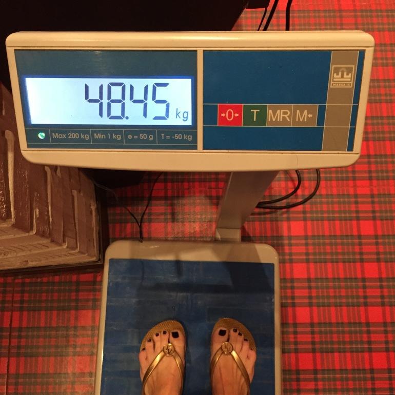 как похудеть до 48 кг