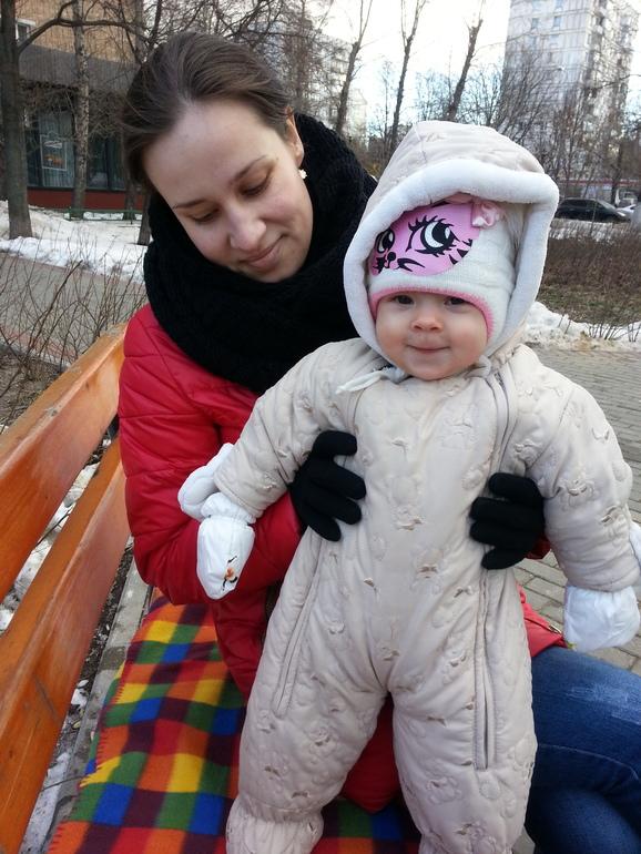 Со своей тетей 1 фотография