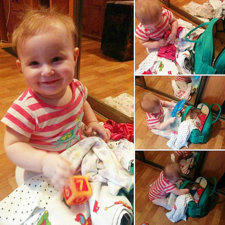 чем занят ребенка 8 месяцев