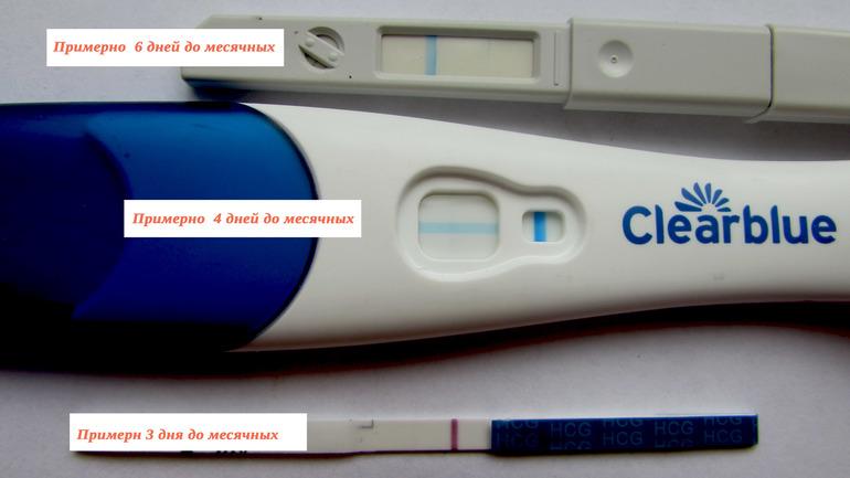 Покажет ли тест беременность за 8 дней до месячных