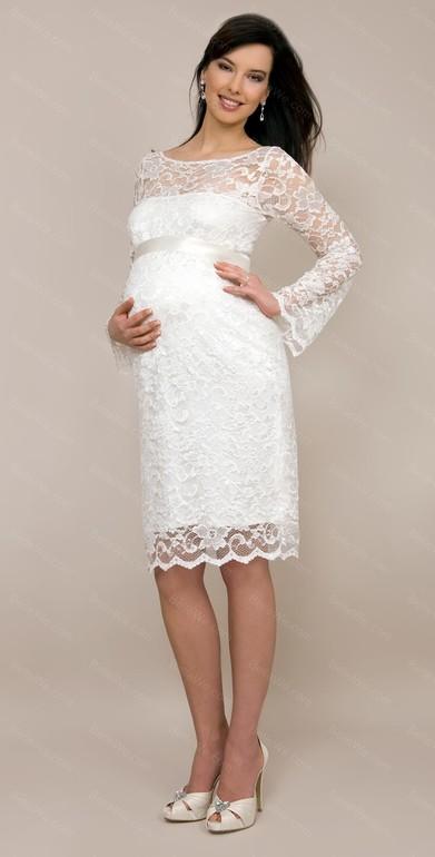 Прямое платье для беременной выкройка