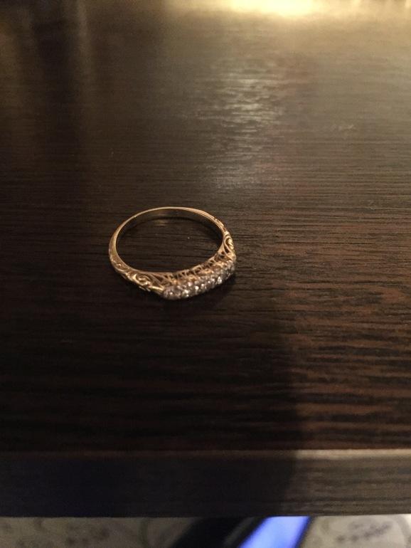 Золотое кольцо с пятью бриллиантами - запись пользователя margarita ... 2bd948cd356