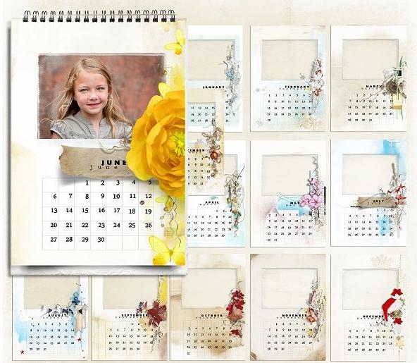 Календари с фотографией на подарок 2